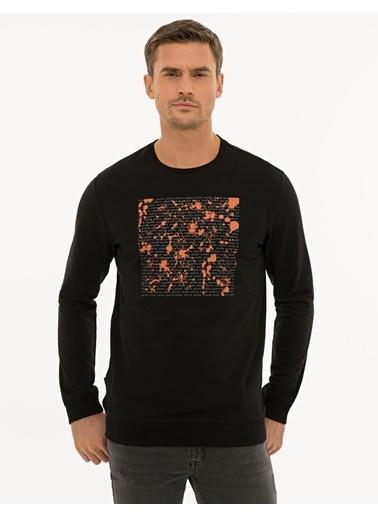 Pierre Cardin Erkek   Sweatshirt G021SZ082.000.1235931.VR046 Siyah